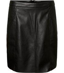 kjol vmnorarioshort hw coated skirt