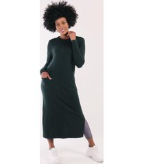 vestido lana sofie verde night concept