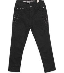 pantalon niña negro  pillin