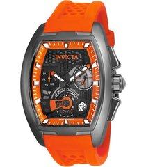 reloj invicta naranja modelo 259cl para hombres, colección s1 rally