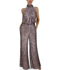 eliza j sequined jumpsuit