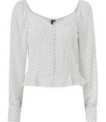 blus objfusae l/s shirt blouse