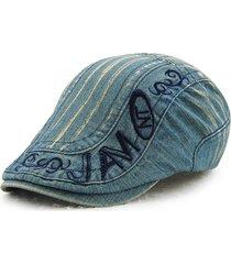cappello in cotone da uomo con cappellino da baseball