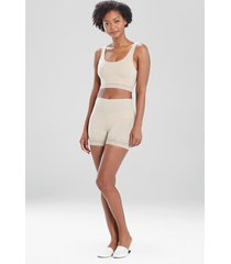 natori bliss perfection lace trim shorts bodysuit, women's, size xs natori