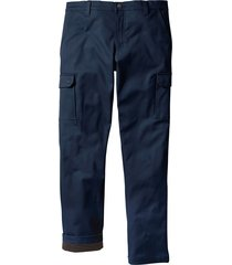 pantaloni cargo termici regular fit (blu) - bpc bonprix collection