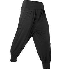 pantaloni per wellness (nero) - bpc bonprix collection