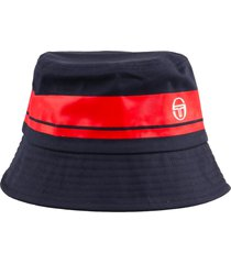 sergio tacchini greater bucket hat | navy/red | sta14008-326