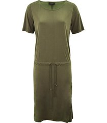 free quent jurk honey olive groen