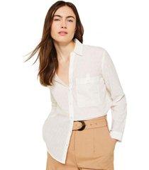 blusa 100% algodón crudo esprit