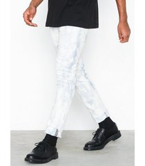 cheap monday tight blue spider jeans blå