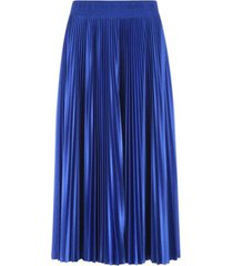 balenciaga pleated skirt shiny