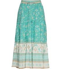 bohemic skirt knälång kjol blå odd molly