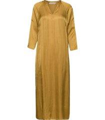 boel jurk knielengte geel rabens sal r