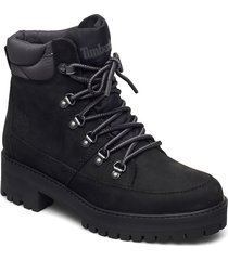 courma f/l hiker wp blk shoes boots ankle boots ankle boot - flat svart timberland