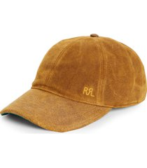 men's rrl suede baseball cap -