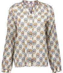 geisha 13155-20 010 blouse off-white/sand combi