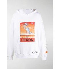 heron preston heron hooded sweatshirt
