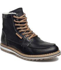 martyn gr mid fur shoes boots winter boots svart björn borg