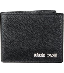 leather bi-fold wallet with coin pocket