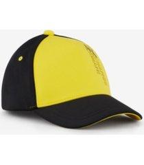 a x armani exchange men's vertical logo hat