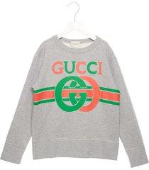 gucci logo interlock sweatshirt
