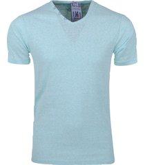 mz72 heren t-shirt toocolor snow mint