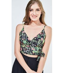 top cachequer floral