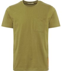 nudie beech green kurt worker t-shirt 131532