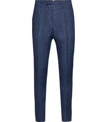 azour rodney linen trouser kostymbyxor formella byxor blå morris
