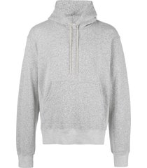 john elliott relaxed-fit hoodie - grey