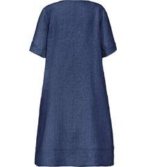 jurk 3/4-mouwen van anna aura blauw