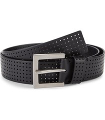 pga tour men's air silicone belt - grey - size 38