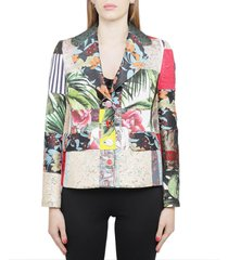 dolce & gabbana patchwork jacket