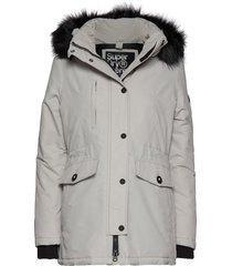 ashley everest parka parka lange jas jas grijs superdry