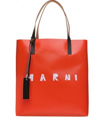 marni marni bicolor bag with logo