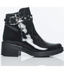 botas negro charol kclass top 1903