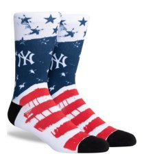 parkway men's new york yankees stars and bars socks