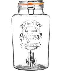 kilner clip top 2.1 gallon drinks dispenser