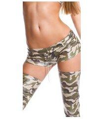 gogo-shorts leger-kleurig