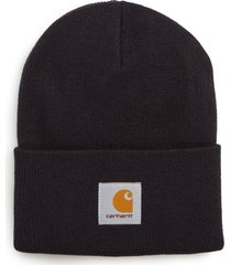 men's carhartt work in progress watch hat - blue