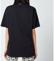 kenzo women's gradient tiger oversize t-shirt - black - l