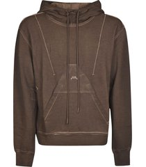 a-cold-wall drawstring hoodie