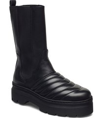 flora shoes boots ankle boots ankle boot - flat svart pavement