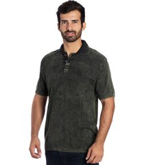 camisa tricot polo y le tisserand verde stone