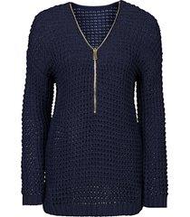 maglione con cerniera (blu) - bodyflirt