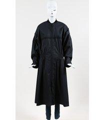 paco rabanne tech poplin zipped blouson coat