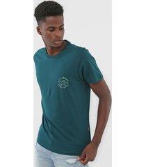 camiseta billabong drown verde - verde - masculino - dafiti