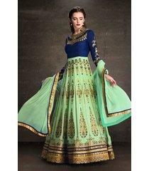 traditional anarkali salwar kameez bridal indian ethnic pakistani designer suit
