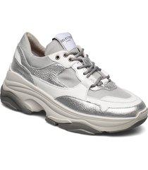 slfgavina trainer b sneakers skor silver selected femme