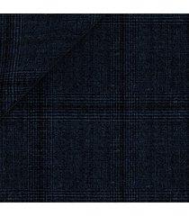 pantaloni da uomo su misura, reda, reda atto blu 130's principe di galles, primavera estate | lanieri
